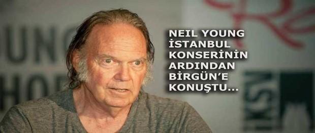 Neil Young: İktidarların değil halkların yanındayım