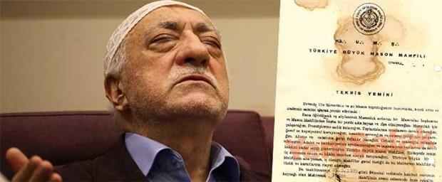 Yeni Şafak 'bombasını patlattı': Fethullah Gülen masonmuş meğer!