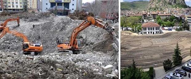 'Meydankondu': Davutoğlu için üç günde miting alanı yapıldı