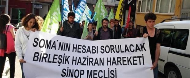 'Hırsız, Katil Erdoğan' sloganı atan 7 Haziran üyesi ifadeye çağrıldı