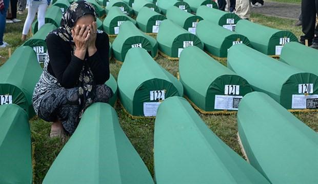 Srebrenitsa katliamının 20. yıl anması