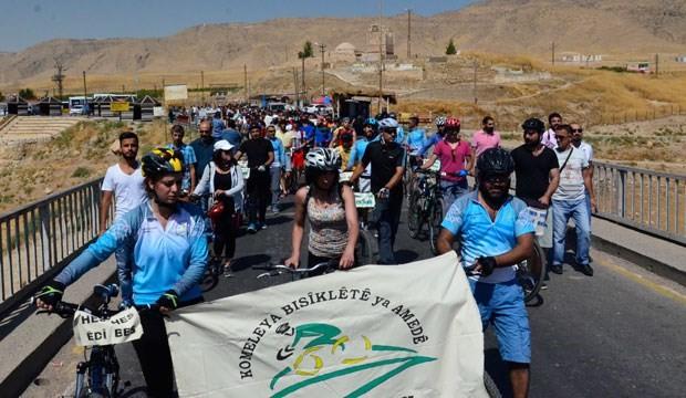 Aktivistler Hasankeyf için yürüdü: Ilısu Barajı protesto edildi