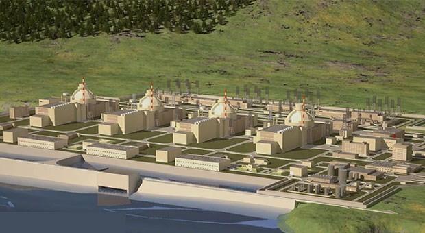 Akkuyu Nükleer Santrali inşaatı durdu