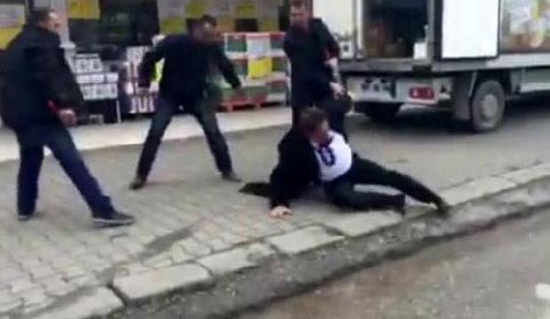 CHP il başkanına sokak ortasında saldırı!