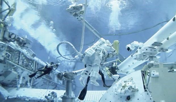 Uzaydan dünyaya düştü doğayı  keşfetti