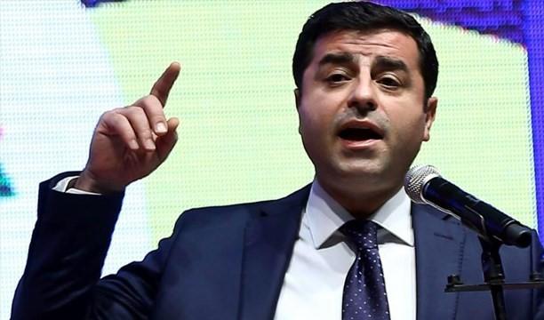 Demirtaş: Hükümetle değil parlamentoyla siyasi çözüm süreci