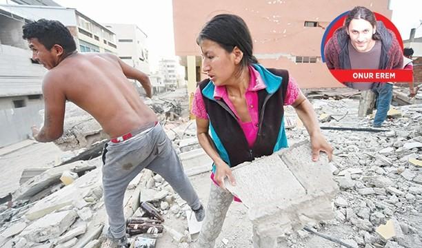 Ekvador depremi: Solcunun farkı!