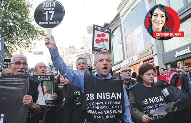 Polis 28 Nisan yürüyüşünü engelledi