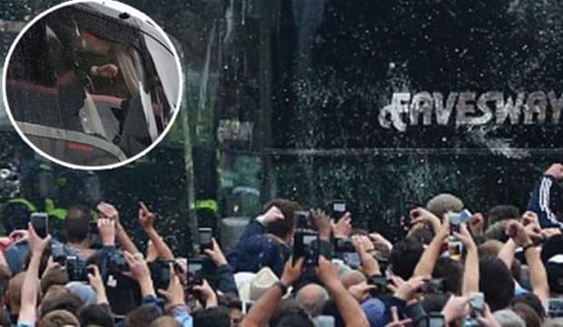 United otobüsüne saldıran West Ham taraftarına ömür boyu men