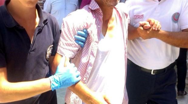 Camide 'kendimi patlatacağım' diyen kişi gözaltına alındı