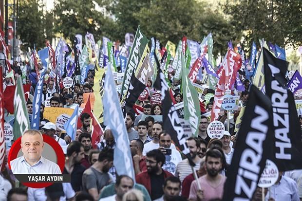 AKP karanlığına karşı gerçek demokrasi