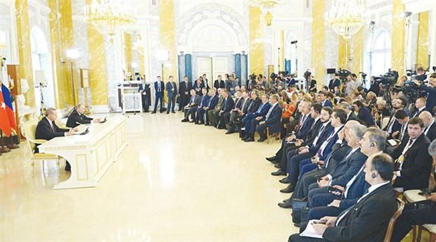 Suriye, Rusya ve Şanghay hayaleti