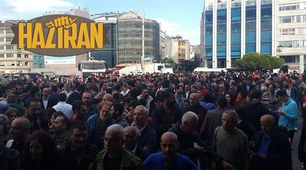 Yurttaşlar, yurdun her yanında haykırdı: #LaikliğiKazanacağız