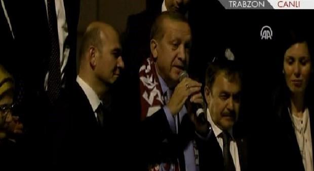 Erdoğan: Bir adam gibi ölmek var bir de madam gibi