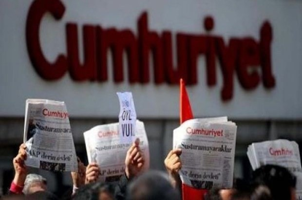 LATEST: Operation against executives of Cumhuriyet newspaper