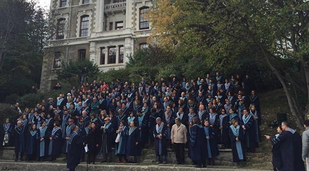 Academics of Boğaziçi University protest lifting of rector elections