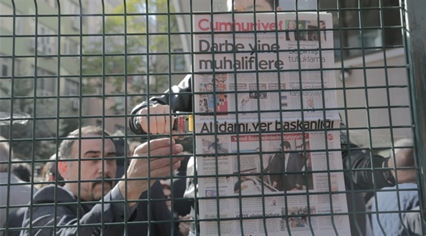 9 executives and columnists of Cumhuriyet newspaper of Turkey arrested