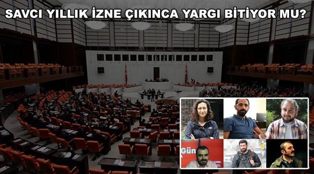 18 gündür gözaltında tutulan 6 gazeteci meclis gündeminde