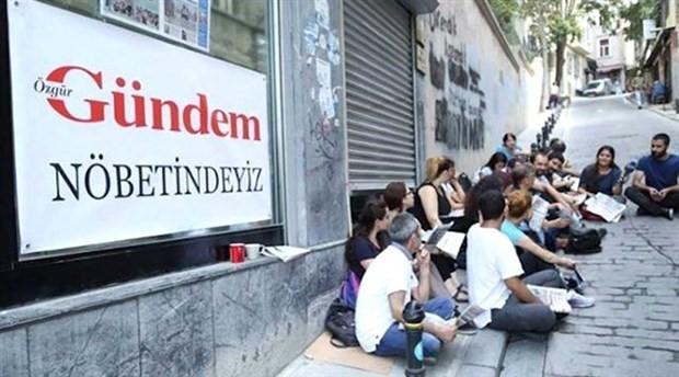 Özgür Gündem nöbetçi genel yayın yönetmenleri davası ertelendi