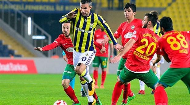 Fenerbahçe, Amedspor karşısında tur atladı