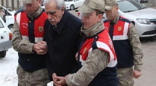 Ahmet Türk hastaneye böyle götürüldü