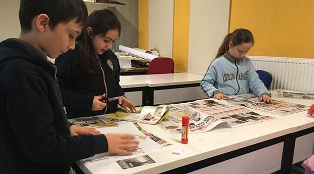 İlkokul Öğrencileri ilk gazetelerini çıkardı: Defter
