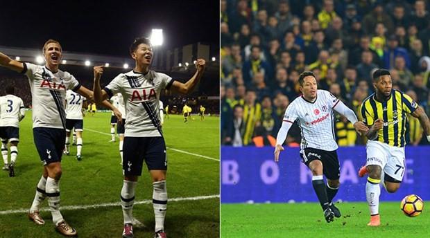 Tottenham tek, FB-BJK beraber