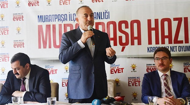 Çavuşoğlu: Batılı ülkeler Türkiye fesatlığından çatlayacak