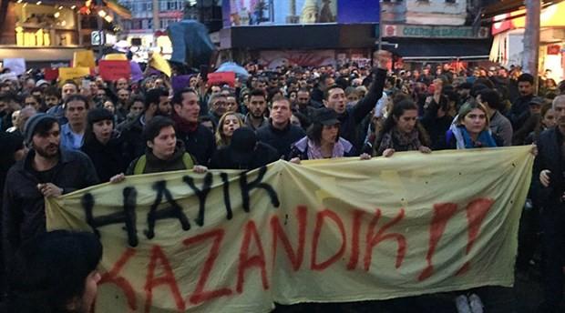 Yurttaşlardan YSK protestoları: HAYIR daha bitmedi!