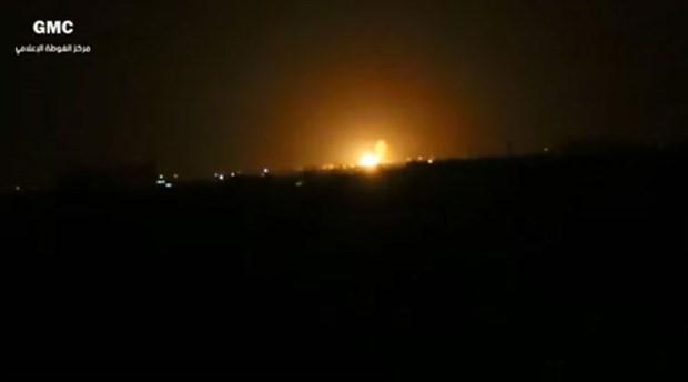 Şam Havaalanı yakınlarında büyük patlama