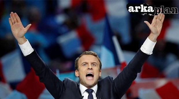Banker politikacı Emmanuel Macron harikalar diyarında