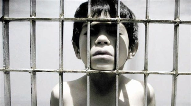 Hundreds of children in Turkey are growing up in prisons