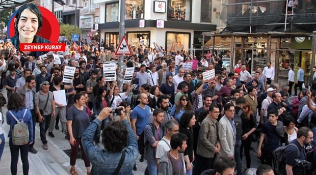 Demokrasi güçleri Gülmen ve Özakça için ayakta