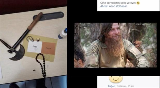 Cebeci saldırganlarından IŞİD militanına destek