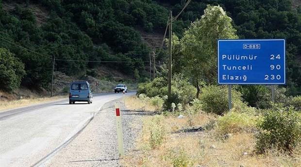 Dersim-Erzincan karayolu kapatıldı