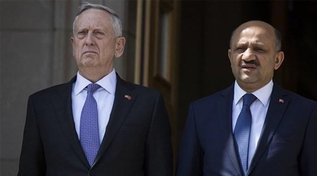 ABD Savunma Bakanı Mattis, Bakan Işık ile görüşecek