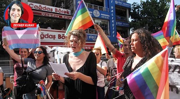 8. Trans Onur Yürüyüşü engel tanımadı