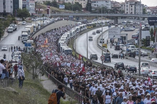 Last day of Justice March in Turkey completed in İstanbul