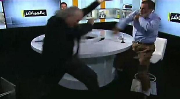 Canlı yayında kavga: Eski vekil ve İslamcı lider birbirine girdi