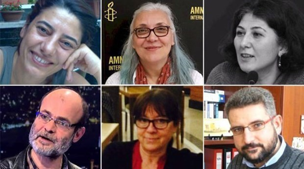6 human rights defenders in Turkey arrested