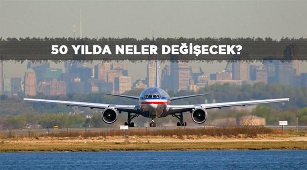 Uçak yolculukları değişiyor: Ayakta seyahat yeniliği