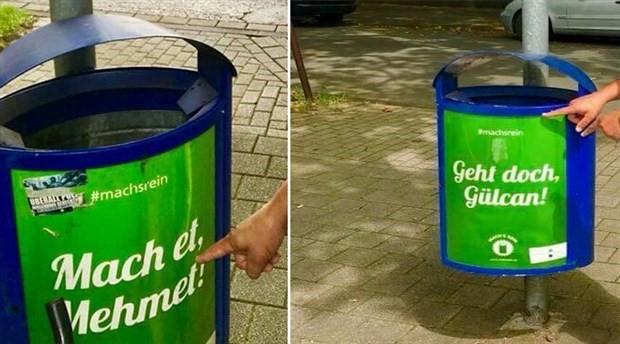 Almanlarla Türkler arasında çöp kutusu tartışması