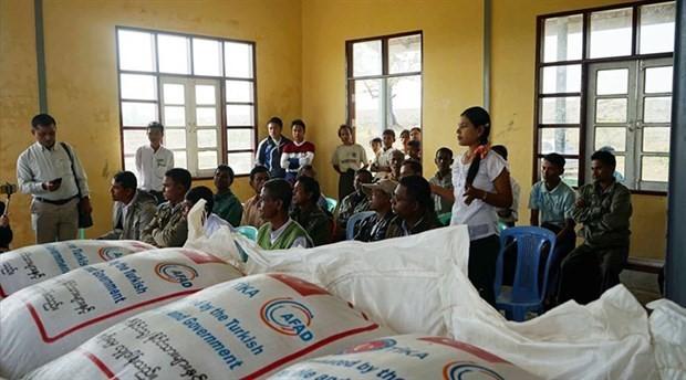 Turkey to start distributing aid in Myanmar