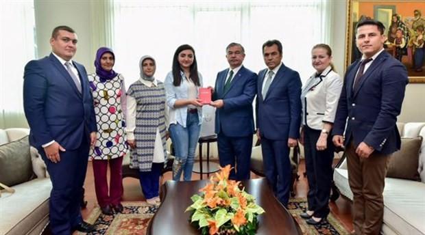 Bakanın konuk ettiği öğrencinin sınav belgesi sahte çıktı