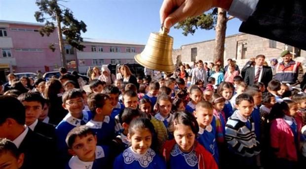 17 milyon öğrenci için ders zili yarın çalıyor