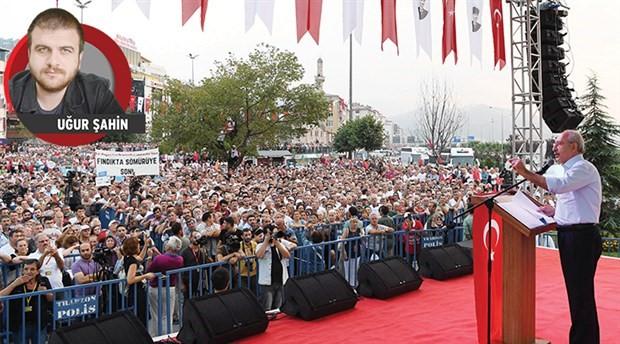 Kılıçdaroğlu fındık mitinginde konuştu: Elin oğlu neden fiyatı belirliyor