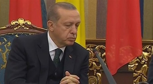 Erdoğan naps at joint news conference with Ukrainian president