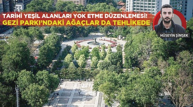 Anıt ağaçları kesecekler