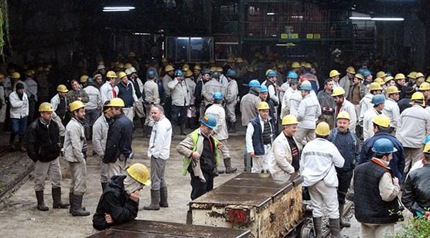 Binlerce madenci kendini maden ocağına kilitledi!