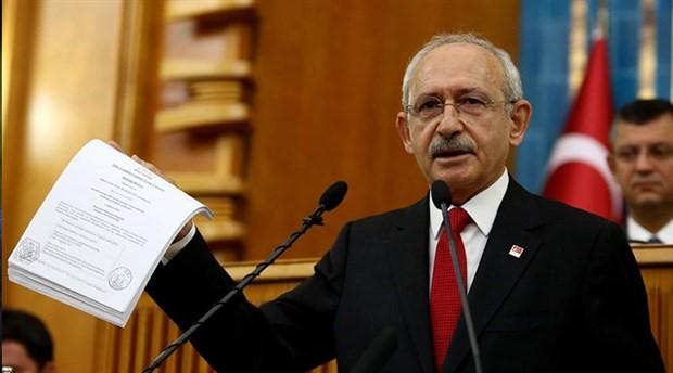 CHP, 'belge talep etme' süreci başlatacak